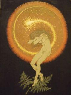 "Hugo Höppener aka Fidus - ""Temple Dance Of The Soul"" series 1910"