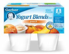 GERBER® Yogurt Blends Snack– Peach