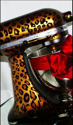 Cheetah Mixer.  I Must Have!!!