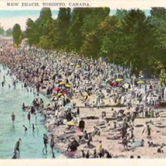 Toronto Beach - Kew Beach postcard Still remember going here for picnics in the summer Back In Time, Back In The Day, Canada 150, Time Photo, Canada Travel, Picnics, Ontario, Hamilton, Buffalo