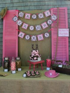 Cowgirl Party LOVE this Cake!!!!