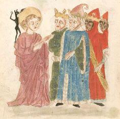 Weltchronik. Sibyllenweissagung. Antichrist  BSB Cgm 426, Bayern,  3. Viertel 15. Jh  Folio 148