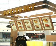 Potato Hut Branding and Graphic Designing