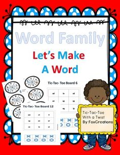 As you are probably are aware, CVC patterns are an essential part of phonemic awareness. This skill is the building block to their literacy future. With this product you will help your students become masters at recognizing the rime and adding different onsets to create a word.