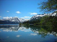 fallen leaf lake , south lake tahoe