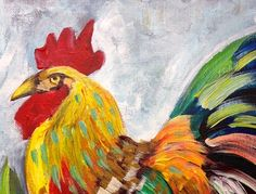 How to paint | Rooster | The Art Sherpa