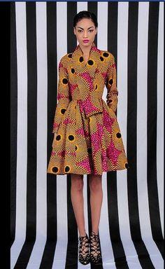 NEW The Gugu Wrap Coat Dress by DemestiksNewYork ~African Prints, African women dresses, African fashion styles, African Print Dresses, African Dresses For Women, African Wear, African Attire, African Women, African Prints, African Style, African Inspired Fashion, African Print Fashion