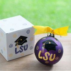 LSU Grad Cap Ornament....hint hint...I MUST HAVE for my collection!