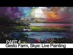 Live Oil Painting Tutorial: Stirling Live Demo PART 4 - YouTube