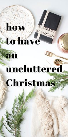 If you've hung out around here at all during the holidays you know I can't deal with packing and unpacking a bunch of red and green plastic bins full of Christmas decor every year. I&#8…