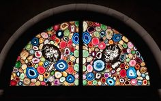 """geode """"stained glass"""""""