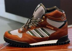 adidas Originals by David Beckham: Marathon TR Mid - Urban Earth Adidas Originals, The Originals, David Beckham, Adidas Shoes, Marathon, Kicks, Footwear, Boots, Earth