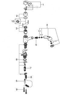 Best 25 Faucet Parts Ideas On Pinterest Kitchen Faucet