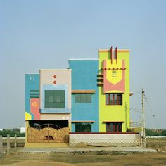 Indian architecture inspired by Ettore Sottsass.
