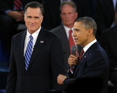 398 Posted at 04:41 PM ET, 10/18/2012  Obama: 'I believe Governor Romney is a good man. Loves his family, cares about his faith'  By Georgetown/ On Faith  Republican presidential nominee Mitt Romney listens as President Obama answers a question during the second presidential debate in Hempstead, N.Y. on Oct. 16, 2012. (REUTERS)