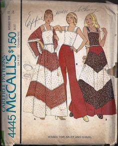 McCalls Skirt and Pants Pattern