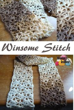 Share this:  This free crochet pattern teaches you how to make this very lovely stitch that you can use for scarves, shawl or afghan. You can find more things like this under the category Ponchos & Shawls   Winsome Stitch – Free Crochet Pattern This page contains affiliate links   For this project you'll need: …