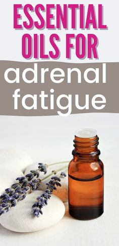 Essential Oils For Thyroid, Essential Oils For Sleep, Best Essential Oils, Adrenal Fatigue Symptoms, Adrenal Glands, Sleeping Essential Oil Blends, Easential Oils, How To Regulate Hormones, Adrenal Support