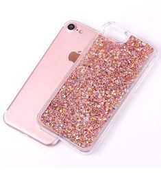 b83ab951739 Fashion Dynamic Liquid Glitter Colorful Paillette Sand Quicksand Hard PC  Back Cover Phone Case For iPhone 5 5S SE 6 6S 7 Plus