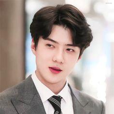 Sehun, Cartoon Profile Pics, Exo Ot12, Exo Memes, Beautiful Gif, Kpop Guys, Aesthetic Boy, Korean Celebrities, Ko Ko Bop