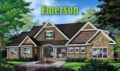 We have a winner! Our Plan in Progress 1402 will be called The Emerson. Thank you for voting! http://houseplansblog.dongardner.com/country-house-plan-drawing-board-1402/. #PlanInProgress #Name #Contest