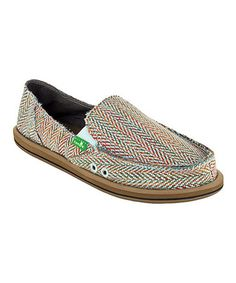 Take a look at this Light Blue Rio Slip-On Shoe - Women by Sanuk on #zulily today! $35 !!