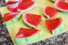 Gelatinepudding en watermeloen! Tweede ronde voor deze lekkere vrucht! Watermelon & jelly