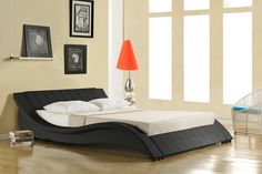 Faux Leather Designer Bed - Double or King Size!