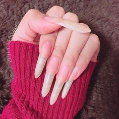 Long Natural Nails, Long Nails, Beautiful Long Hair, Perfect Nails, Hands, Long Hair Styles, Beauty, Instagram, Nails