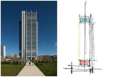 Edifício bioclimático projetado Renzo Piano é LEED Platium