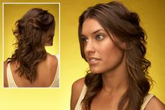 This hairstlye's perfect for strolling in and out of downtown San Diego!