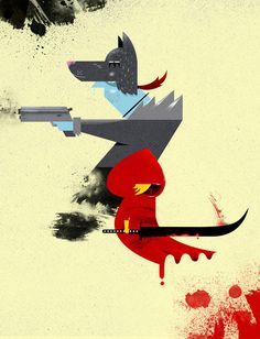 Red Hood & The Badass Wolf Redux
