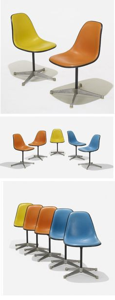 #Eames shell chairs have always come in a great array of colors @hermanmiller @vitra