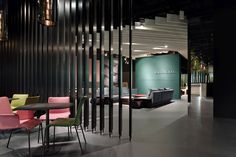 Walter Knoll stand at Orgatec 2014 by Ippolito Fleitz Group, Cologne – Germany » Retail Design Blog