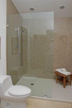 shower walls solid surface | Bathroom Showers, Shower & Bath Walls, Shower Floors