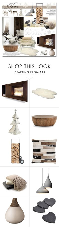 """Untitled #714"" by valentina1 ❤ liked on Polyvore featuring interior, interiors, interior design, home, home decor, interior decorating, UGG Australia, Acciaio, Arteriors and Dot & Bo"