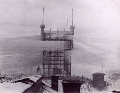 "Sweden's ""Telefontornet"" was a Stockholm-based telephone tower built in 1887 that spread some 4,000 phone lines out across the capital. This 1890 photo lends some credibility to the claim that the tower blocked out the sun, though we'll never know for sure, as it was destroyed in 1953."