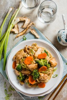 Healthy Chicken Recipes, Turkey Recipes, Asian Recipes, Dinner Recipes, Asian Foods, Ethnic Recipes, Chicken Chow Mein, Moist Chicken, Authentic Chinese Recipes