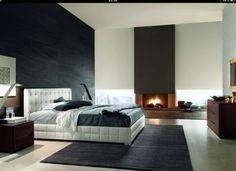 Love the black wall!
