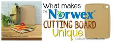 The NEW Norwex Biodegradable Cutting Board is amazing! One of my favorite kitchen tools!!