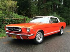 1965 FORD MUSTANG CONVERTIBLE...Re-pin...Brought to you by #HouseofInsurance for #CarInsurance #EugeneOregon