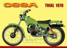 historia11 Vintage Bikes, Vintage Motorcycles, Cars And Motorcycles, Old Bikes, Dirt Bikes, Motos Trial, Motorcycle Dirt Bike, Trial Bike, Vintage Motocross