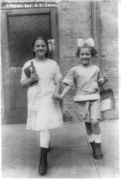Opening day 1915 NY schools