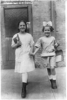 1915 New York City school children