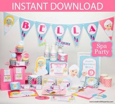 Let's Party – Spa Party – Building Our Happily Ever After