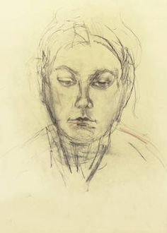 "Saatchi Art Artist Ute Rathmann; Drawing, ""Hommage à Käthe Kollwitz IV"" #art"