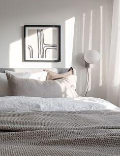Cozy yet minimal home - via Coco Lapine Design blog. Styled by Grey Deco, photographed by Fredrik J Karlsson for Alvhem.