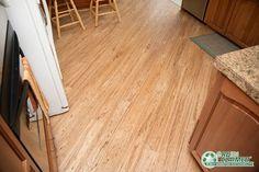 Natural Eucalyptus flooring for the kitchen