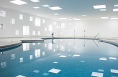 Castell Dels Hams Pool by A2 Arquitectos.