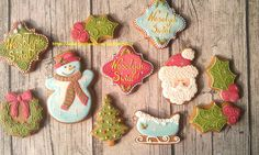 Vintage Christmas set | Cookie Connection
